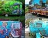 Check Out These Super Cool Painted RVs