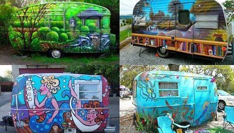 painted RVs